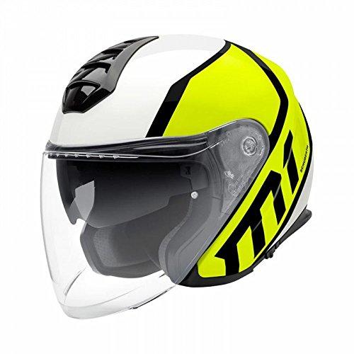 Schuberth M1parasole Open Face scooter casco–Flux giallo