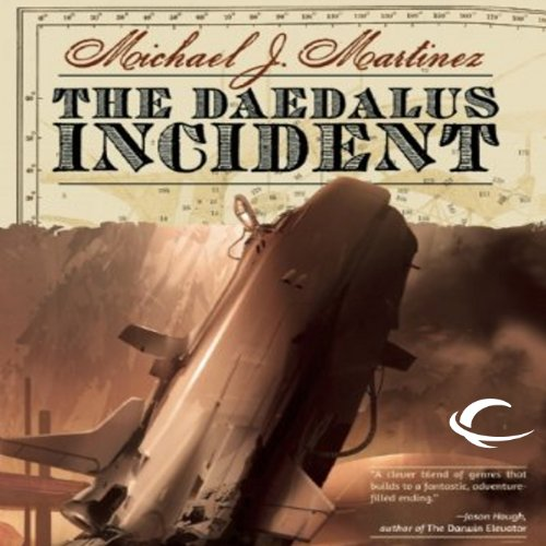 The Daedalus Incident audiobook cover art