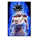 Wangart Posters e impresión Dragon Ball Super Poster Goku Ultra...