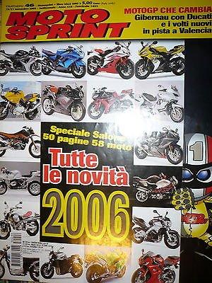 Moto Sprint N.46 2005:BMW K 1200 GT.Moto Guzzi Norge 1200,Honda Gold Wing FF10