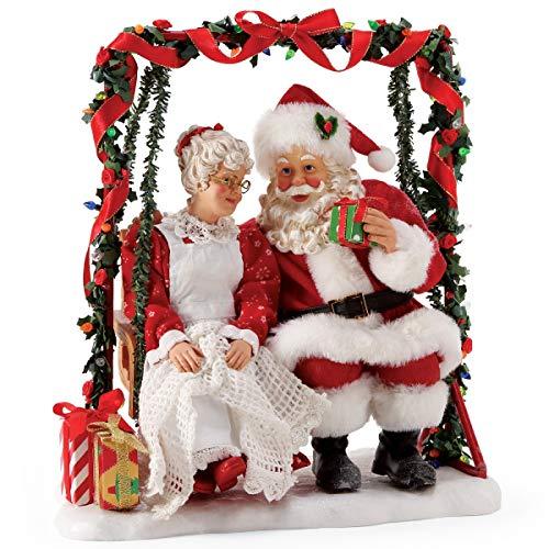Department 56 Possible Dreams Santa Sports and Leisure Mrs. Claus Garden Retreat Figurine, 11 Inch, Multicolor,6005290