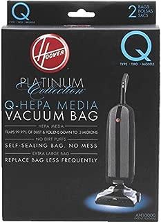 Hoover AH10000 Platinum Type-Q HEPA Vacuum Bag, Five 2-Packs: Total 10 Bags