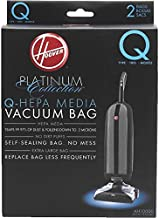 Hoover AH10000 Platinum Type-Q HEPA Vacuum Bag, Five 2-Packs: Total 10 Bags
