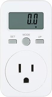 KKmoon デジタル LCD パワーモニター 電力量 電気料金計測 プラグイン式 エネルギーモニター ワットモニター 電気モニターソケット US プラグ