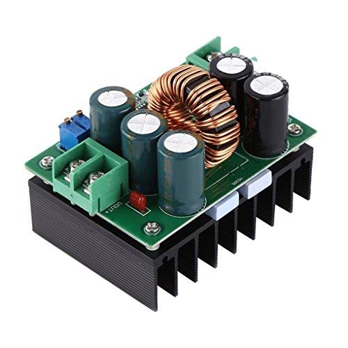 Guangcailun 1200W 20A DC convertidor elevador Step-up fuente de alimentación fuera 12-80V módulo convertidor EN 10-60V OUT 12-80V de a bordo Regulador