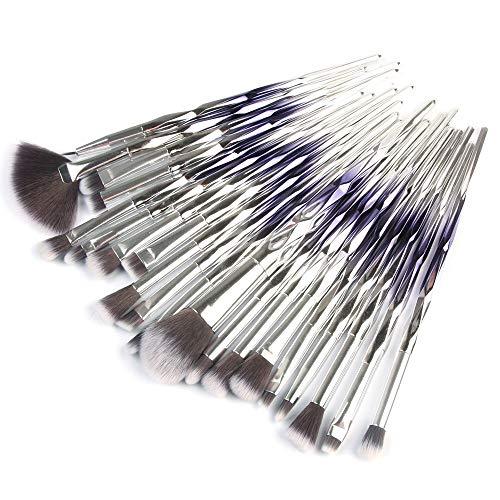ITISME-ITISME-20 Pcs/Set Maquillage Brush Set Makeup Brushes Kit Outils Maquillage Professionnel Maquillage Pinceaux Yeux Pinceau Pour Les (H)