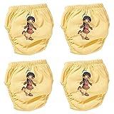 origin-AL Home & Style INDIANERFRAU 4er Pack Wasserdicht Baby Lernwindel Trainerhosen Unterwäsche Windeln Windelhose zum Toilettentraining Töpfchentraining (Set, 90)