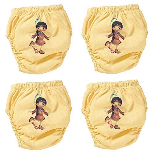 origin-AL Home & Style origin-AL Home & Style INDIANERFRAU 4er Pack Wasserdicht Baby Lernwindel Trainerhosen Unterwäsche Windeln Windelhose zum Toilettentraining Töpfchentraining (Set, 80)