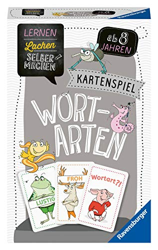 Ravensburger 80353 - Lernen Lachen Selbermachen: Wortarten, Lernspiel, Kartenspiel