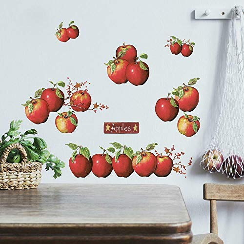 Stickers Repositionnables Pommes - Country Apples