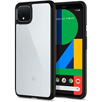 Spigen Ultra Hybrid Designed for Google Pixel 4 Case (2019) - Matte Black