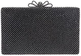 Fawziya Bow Purse For Women Rhinestone Crystal Evening Clutch Bags