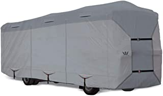S2 Expedition Class A RV Covers by Eevelle | Marine Grade Waterproof Fabric Roof | Tan and Gray
