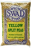 Great Bazaar Swad Split Peas, Yellow, 4 Pound