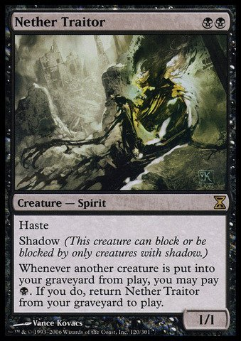 Magic The Gathering - Nether Traitor - Time Spiral