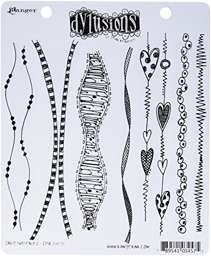 Ranger DYR-34575 Dyan Reaveley's Dylusions Cling Stamp Collections, 8.5 by 7-Inch, Inbetweenies