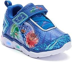 PJ Masks Toddler Shoes,Light Up Tennis Sneaker,Rubber Bottom, Blue, Toddler Size 7