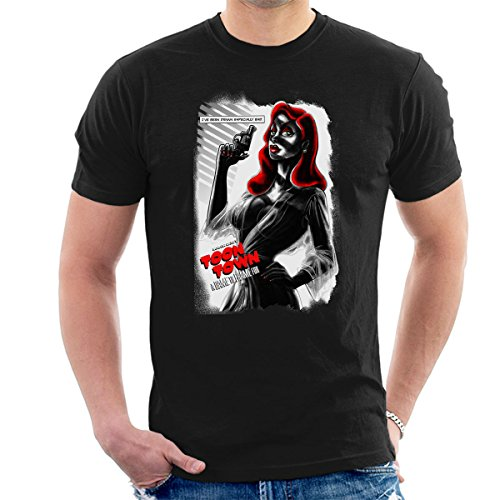 A Dame To Frame For Jessica Rabbit Men's T-Shirt