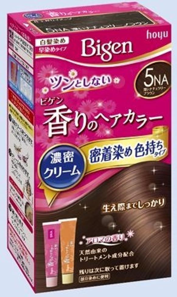 ラダヘアブリリアントビゲン 香りのヘアカラー クリーム 5NA 深いナチュラリーブラウン × 27個セット