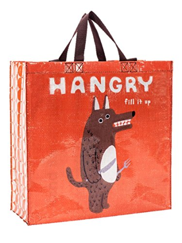 Blau Q Taschen, Shopper (Hungry Fill It Up) 20,32 cm bunt