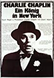 movie poster of Charlie Chaplin in A King in New York