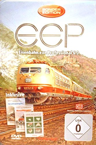 EEP 6 Eisenbahn.exe Professional Edition in Metallbox inkl. Add-Ons