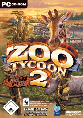Zoo Tycoon 2: African Adventures Expansion (PC) (Add on)