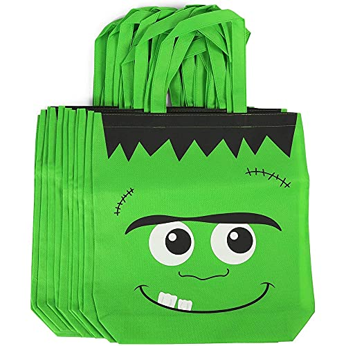 Halloween Trick or Treating, Frankenstein Party Gift Bags (12 Pack)