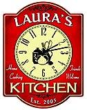Redeye Laserworks Home Cooking Kitchen Clock - Personalized