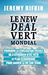Le new deal vert mondial par Rifkin