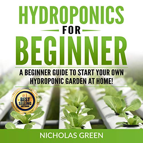 Hydroponics for Beginners cover art