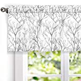 PACKAGE INCLUDES: One valance.Extremely soft to the touch. Made of 100% Polyester, blackout fabric linling. imported. DESIGN & STYLE:This versatile lined valance provides an easy and inexpensive way to add color and style to any room of your home. SI...