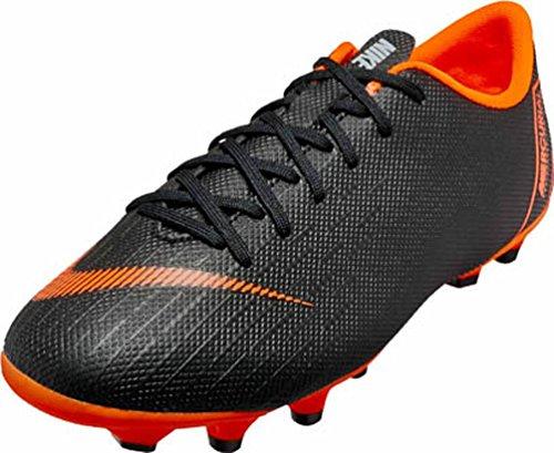 Nike Unisex-Kinder Jr. Mercurial Vapor XII Academy MG Fitnessschuhe, Mehrfarbig (Black/Total Orange-W 081), 36 EU