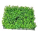 U/K PULABO - Alfombra decorativa cuadrada de césped artificial para acuario, césped artificial, alfombra decorativa elegante y popular, resistente