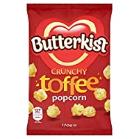 (Beacon Confectionery (ビーコン菓子)) Butterkistカリカリタフィーポップコーン170グラム (x2) - Butterkist Crunchy Toffee Popcorn 170g (Pack of 2) [並行輸入品]