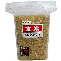 米屋清米衛 鳥取県産 玄米 大山山麓米 コシヒカリ (選別済)( 5kg ×2) 10kg