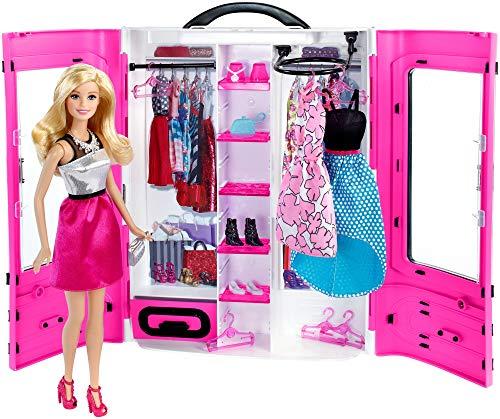 Barbie Fashionsita - Barbie y su Armario Fashion, muñeca con Accesorios, Ropa y complementos (Mattel DMT58) , color/modelo surtido