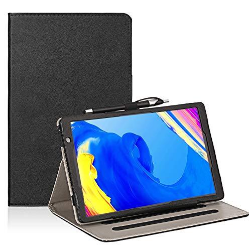 Transwon Case for TOSCIDO P20 Tablet 10 Inch, Facetel Q3 Pro 10 Inch Tablet, Vankyo Matrixpad S20 10 Inch Tablet, MOXNICE P63, YUNTAB D107 10.1 Inch Tablet