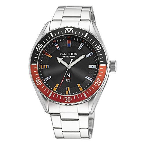 Nautica Finn World - Reloj solo tiempo para hombre, moderno, cód. NAPFWF017