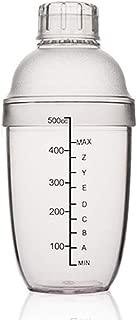 18-Ounce Clear Bar Shaker Professional Bartender Cocktail Shaker