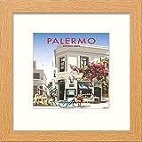 L Lumartos Vintage Palermo Poster, modernes Heimdekoration,