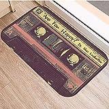 OPLJ Cinta de cassette antideslizante para el suelo, alfombra para puerta de baño, cocina, entrada, decoración del hogar, alfombra A20, 50 x 80 cm