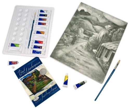 Royal & Langnickel POM-SET4 Peindre sa Propre oeuvre d'art Route de montagne