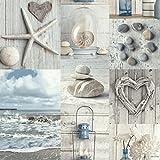Arthouse 699000 Maritime Collage Papier peint