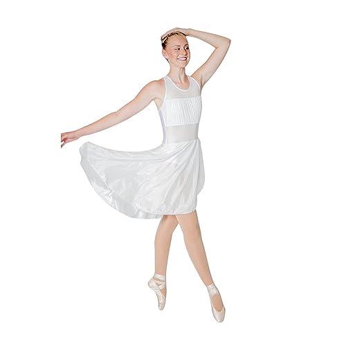3af96e4efdb5b HDW DANCE Women Mesh Halter Leotard Dance Dress Lyrical Modern Contemporary