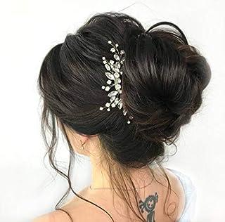 Jakawin عروس شانه مو عروس شانه قطعه موی سر عروسکی بدلیجات لوازم جانبی عروس عروس زنان و دختران HC113