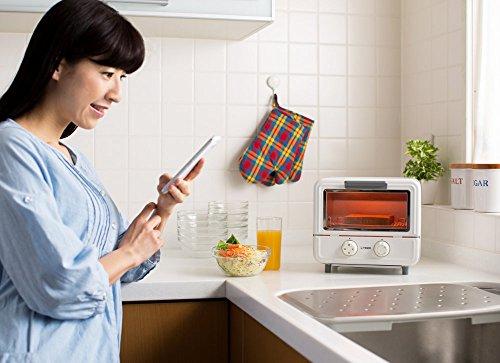 タイガーオーブントースターぷちはこホワイトレシピ付きやきたてKAO-A850-WTiger