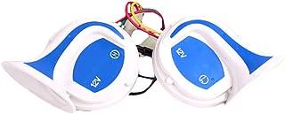 Shentesel Loud Horn Speaker Alarm 12V 110dB Vehicle Boat Car Motorcycle Van Truck Siren - Blue + White