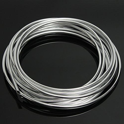 JenNiFer 5 Mt DIY Silber Autotür Kantenschutz Anti-Collision Strip Seal Trim Formschutz