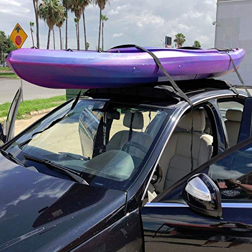 Best Soft Pad for two kayaks on car